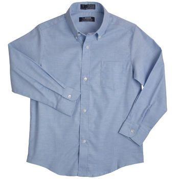 Long Sleeve Oxford Shirt(Size 8-14)