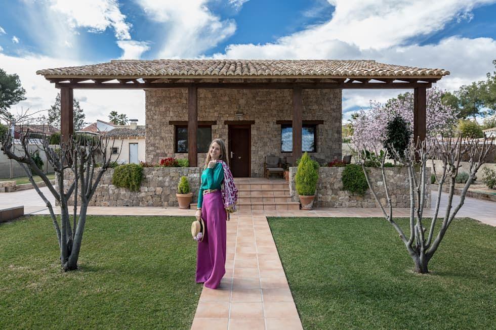 Casa del Porche de Piedra Casas de estilo rústico de LLIBERÓS