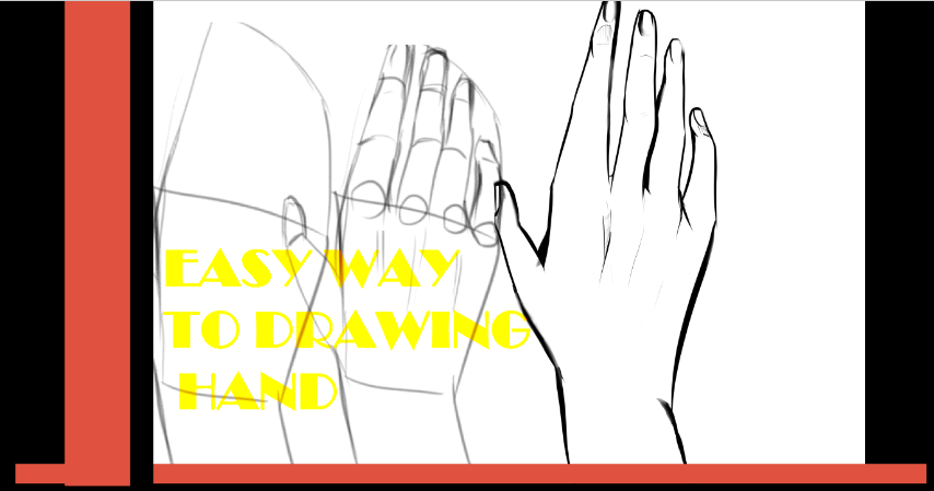 Cara Menggambar Tangan Manga Mudah Menggambar Tangan Cara Menggambar Gambar