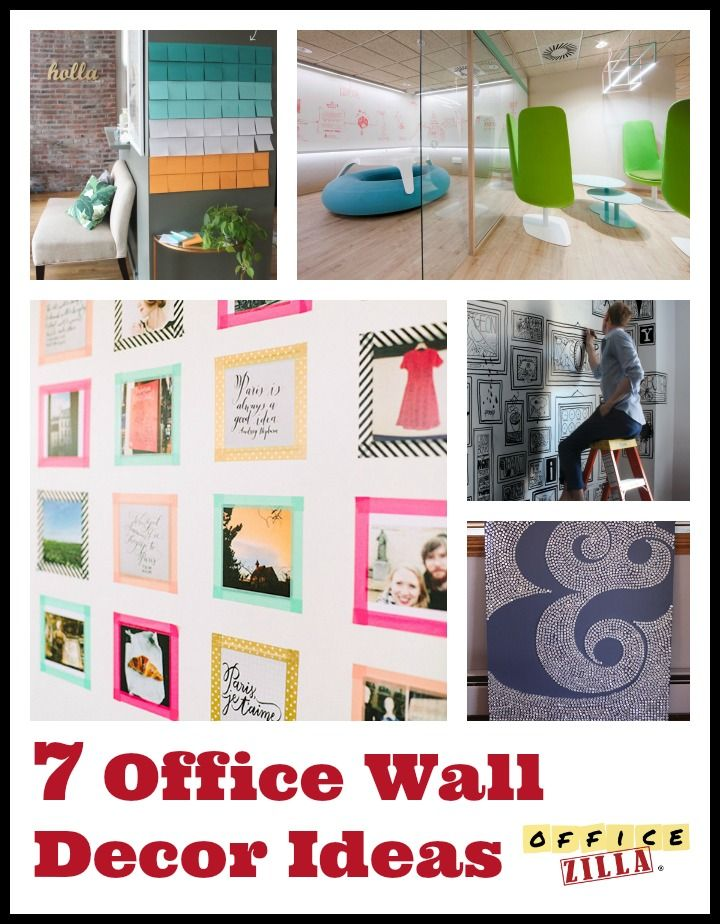 Fun Office Wall Decor Video And Photos