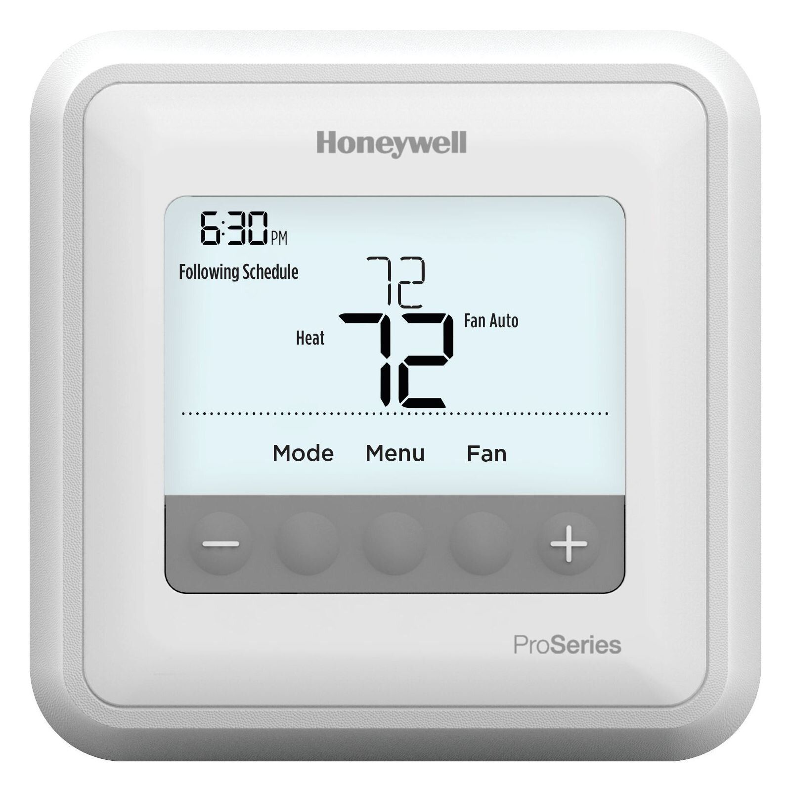 Honeywell Th4110u2005 U T4 Pro Programmable Thermostat Honeywell Alarm System Electrical Projects