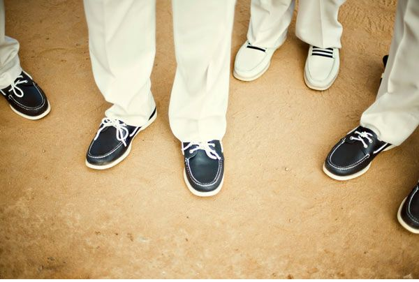 I Think The Shoes Idea Is Adorable For Boat Club Beachy Wedding