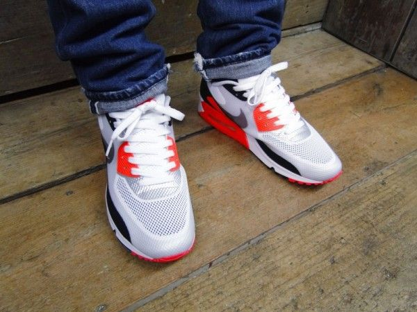nike air max 90 infrared hyperfuse for sale