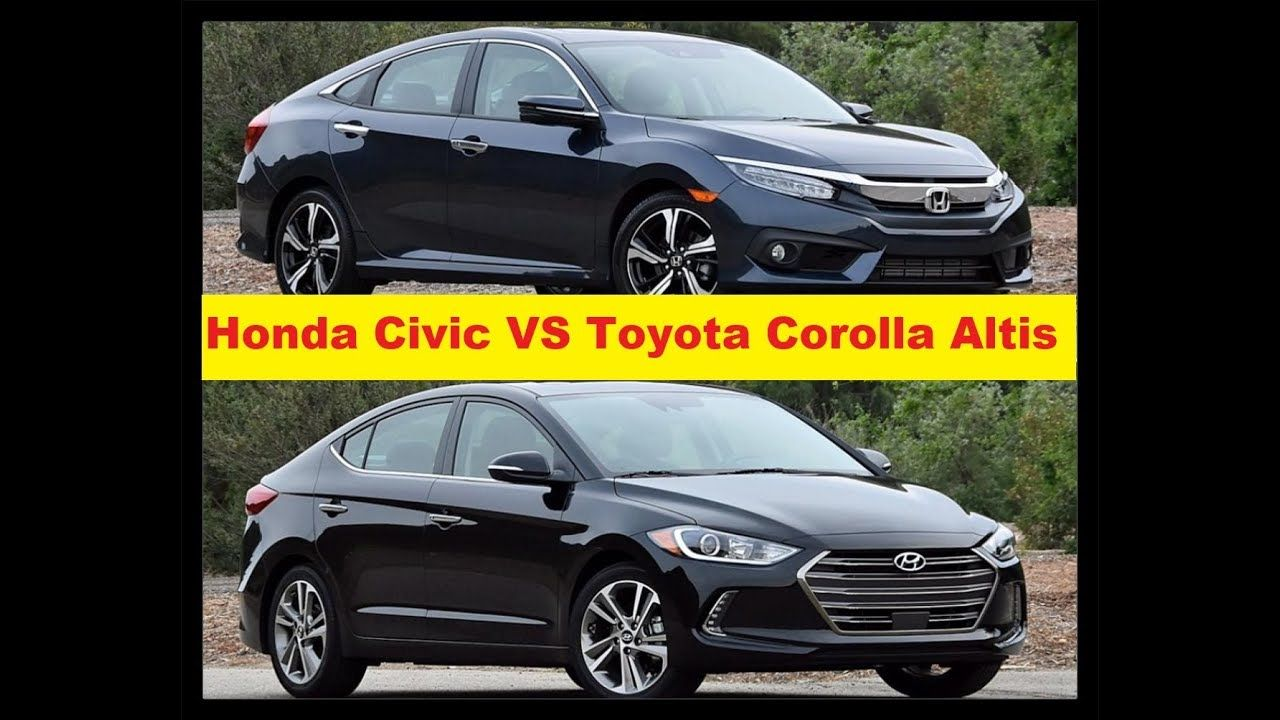 All New Corolla Altis Vs Civic Foto Kijang Innova 2017 Honda Toyota Infotainment Popular News