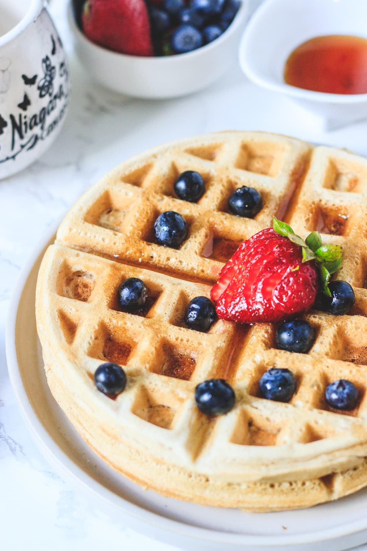 Eggless Waffles Vegan Spice Up The Curry Recipe In 2020 Vegan Dessert Recipes Waffle Recipes Waffles