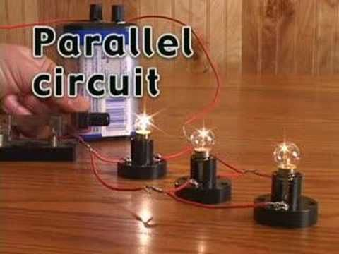 Electrical Circuits - great parallel circuit clip Teaching