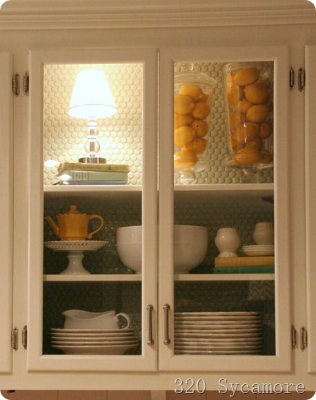 How To Install Glass Doors In Your Cabinets. Only 8 Dollars Each!