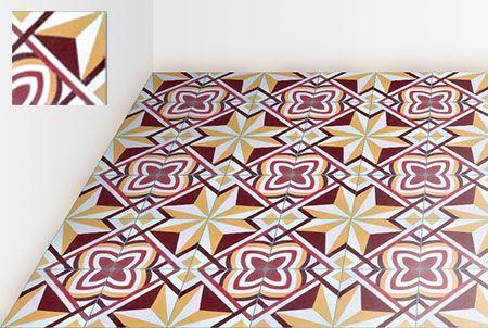 Encaustic Cement Tiles Retro Vintage Original Or Custom Made