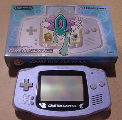 Game Boy Advance Suicune Cute Games Gameboy Retro Games Console