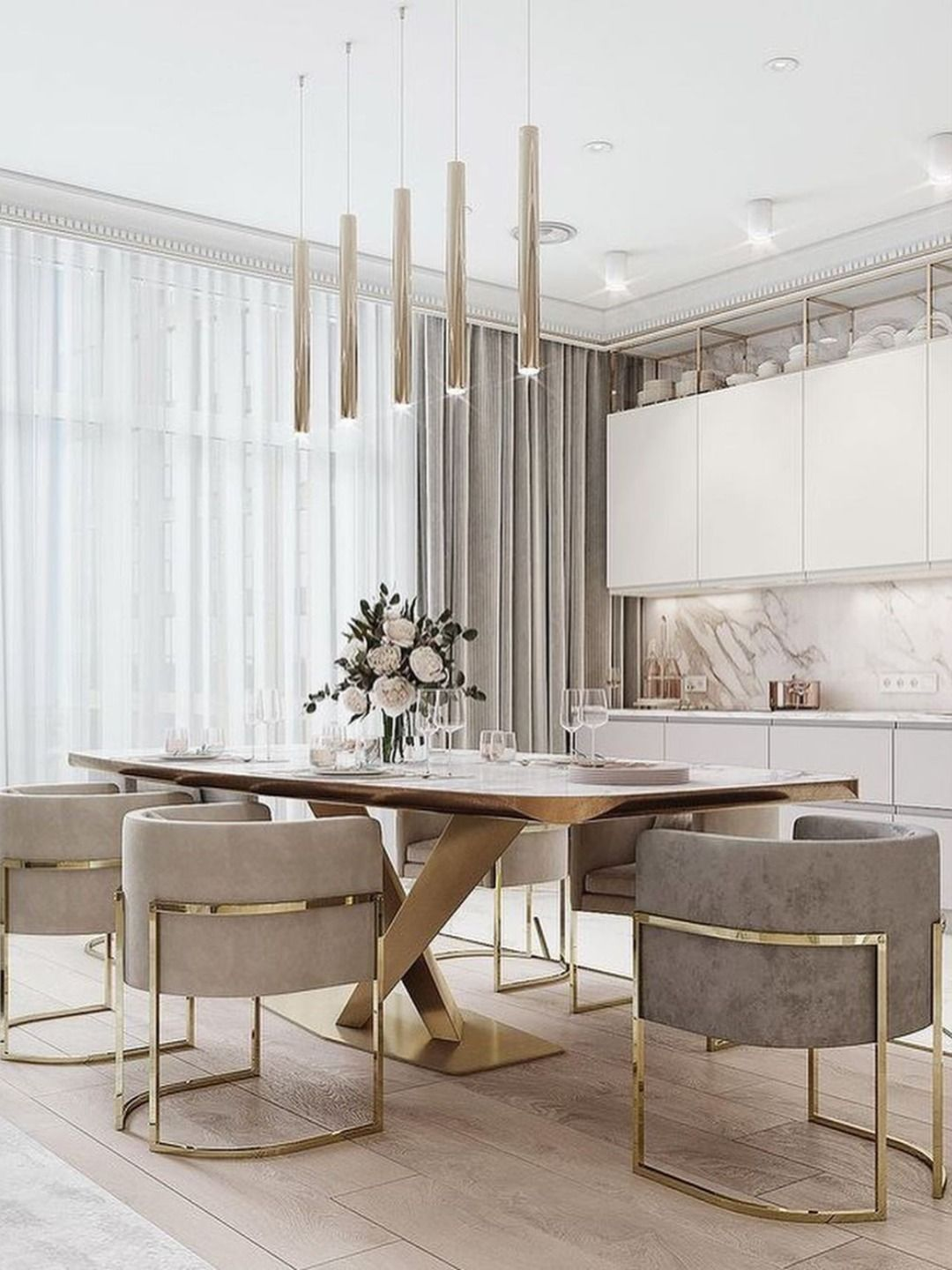 The Best Essentials for a Glamorous Dining Room