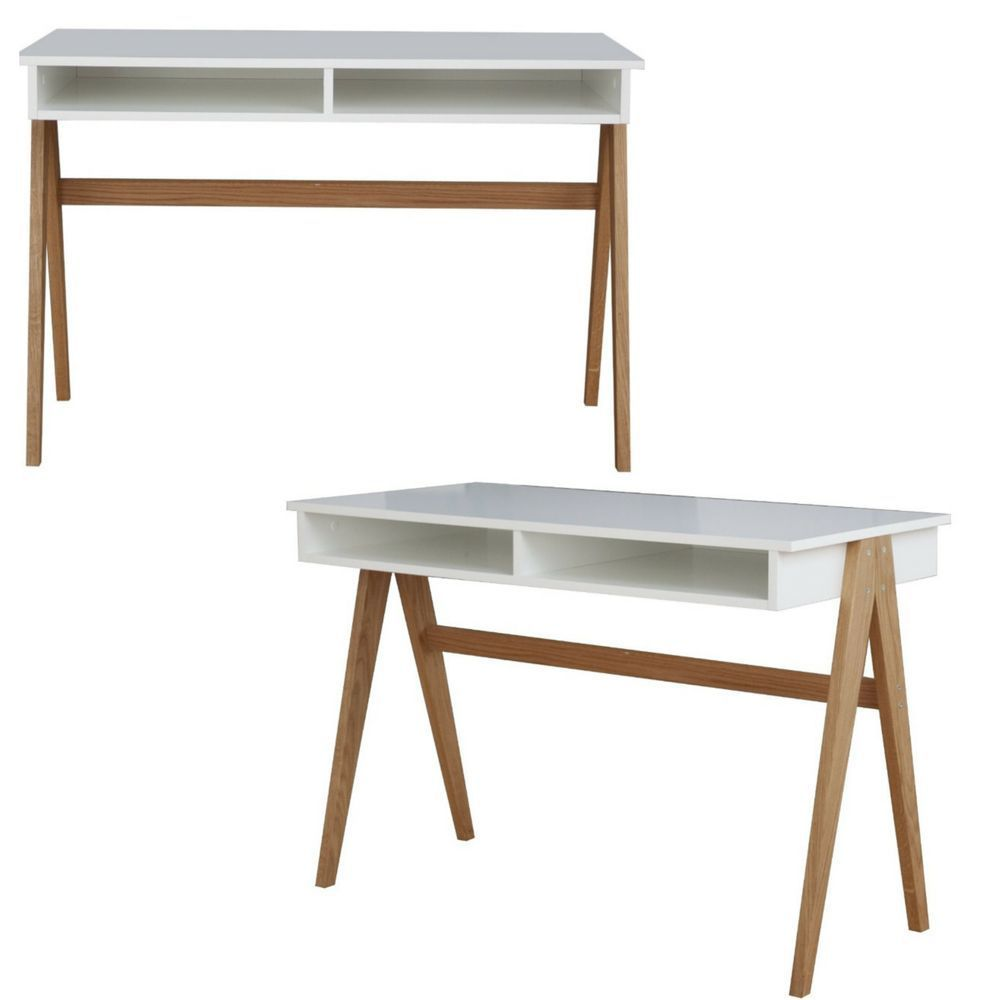 office workstations desks. White Modern Office Workstation Desk Computer Laptop Designer Table Retro Oak In\u2026 Workstations Desks R