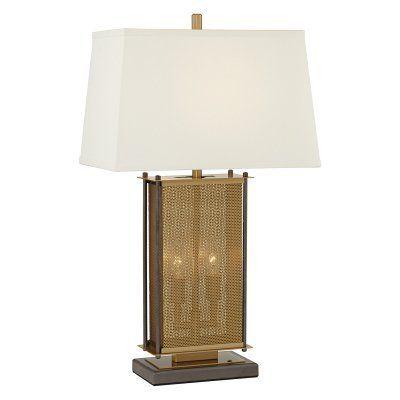 Pacific Coast Lighting Adonis Metal Table Lamp - 87-10060-02