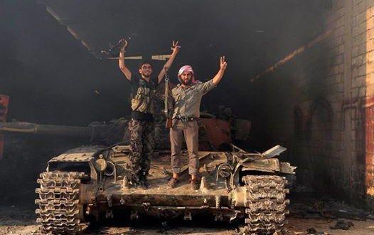 خسائر كبيرة يتكبدها النظام في غزوة حماة