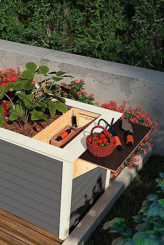Perfekte Gartengestaltung So Wird Ihr Garten Zum Kleinen Paradies Mit Bildern Hochbeet