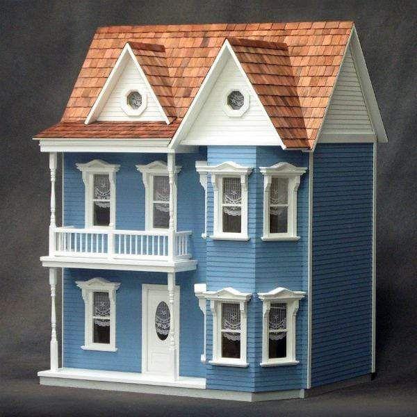 Princess Anne Wooden Dollhouse Kit