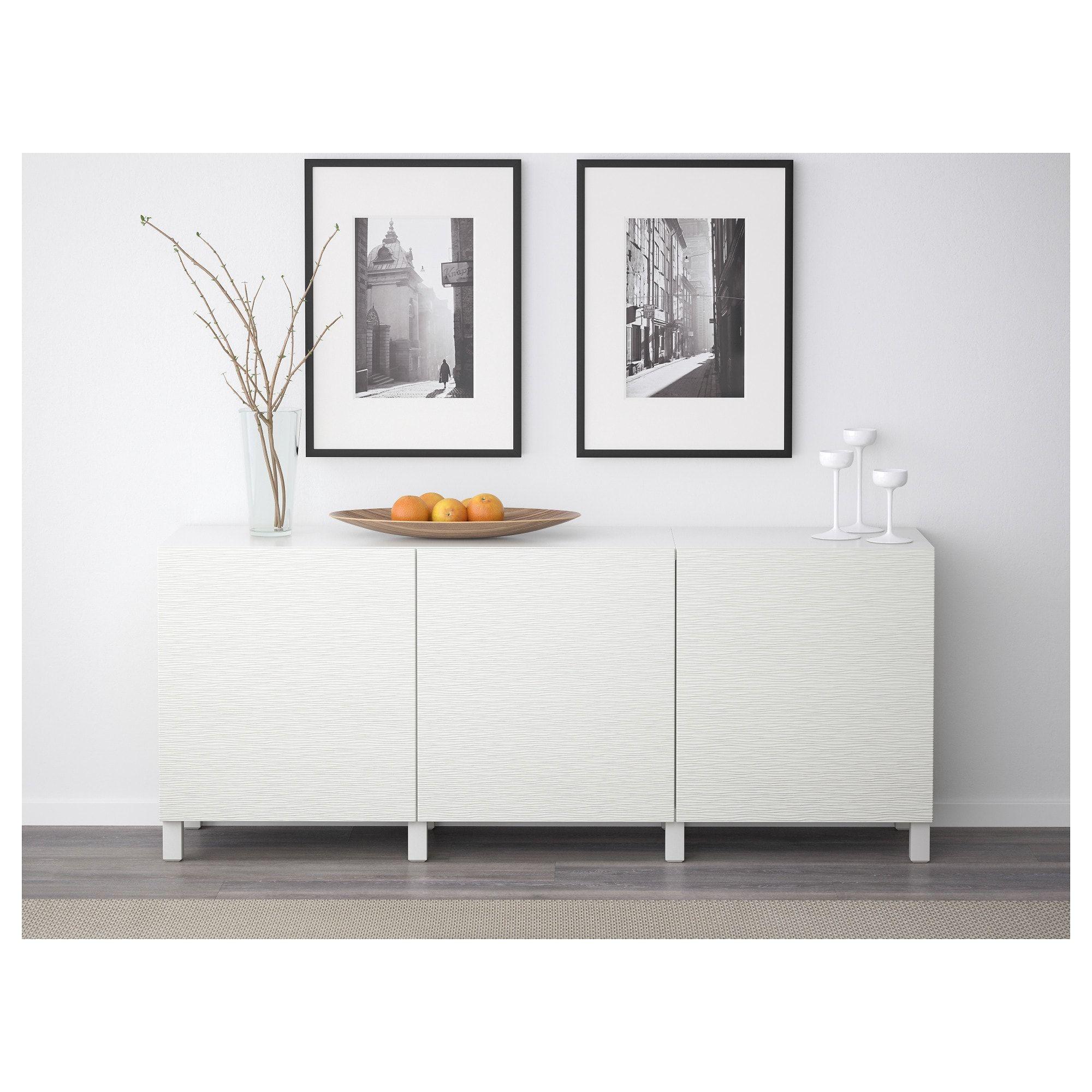 Best Storage Combination With Doors  Whitelaxviken White  Ikea
