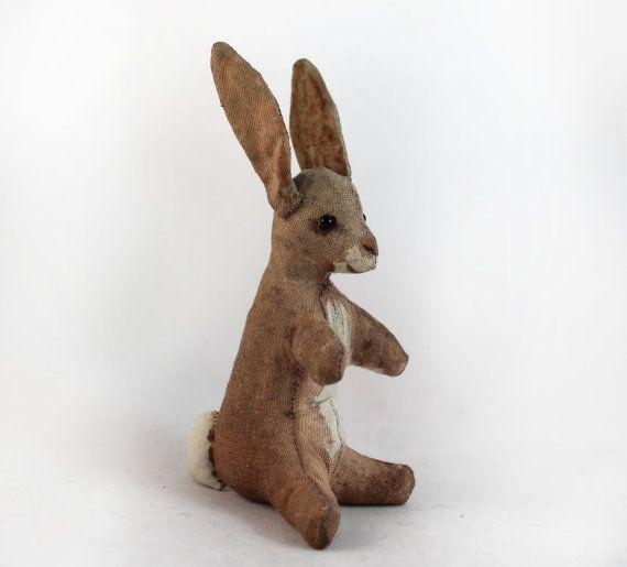 Rabbit (sitting) - Pdf sewing pattern