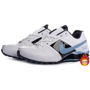 8dde2d287e05 http   www.asneakers4u.com Mens Nike Shox Deliver White Blue Black ...