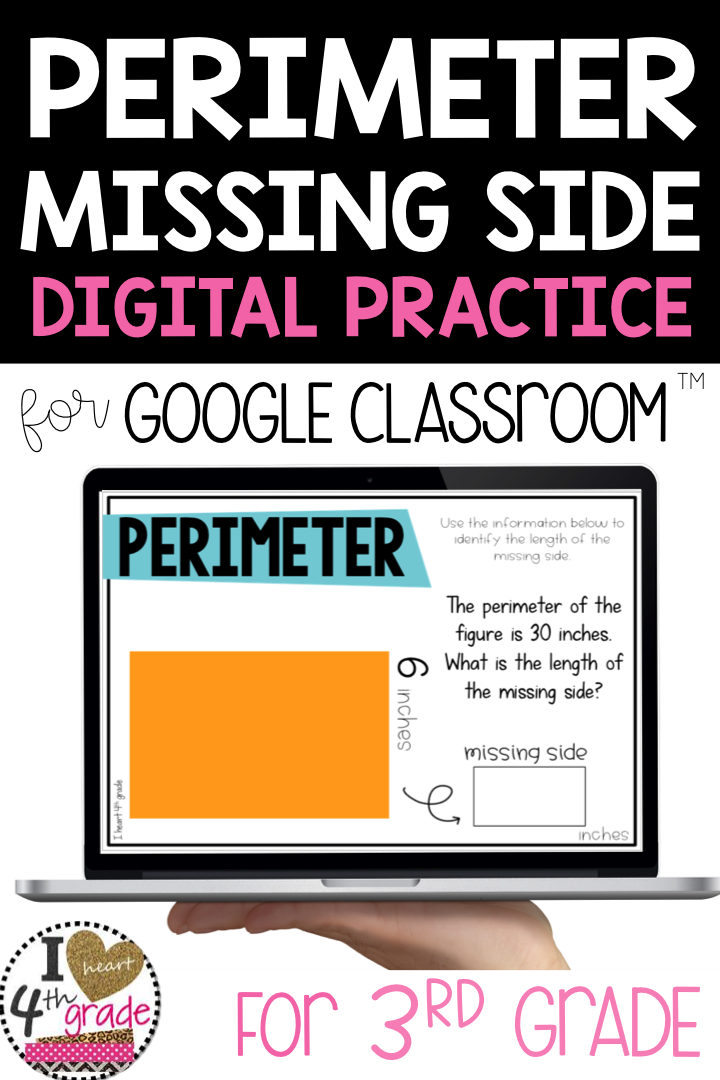 Perimeter find the Missing Measurement for Google
