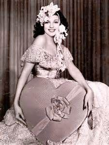 Rita Hayworth, valentine pinup
