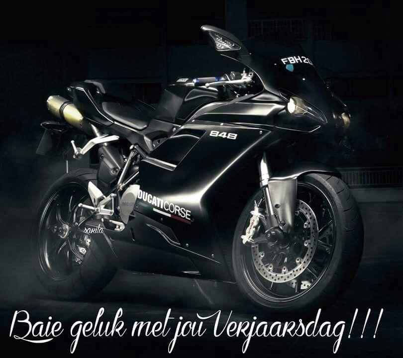 Man Motorfiets Quotes Verjaarsdag Wense Ducati 848 Evo Ducati