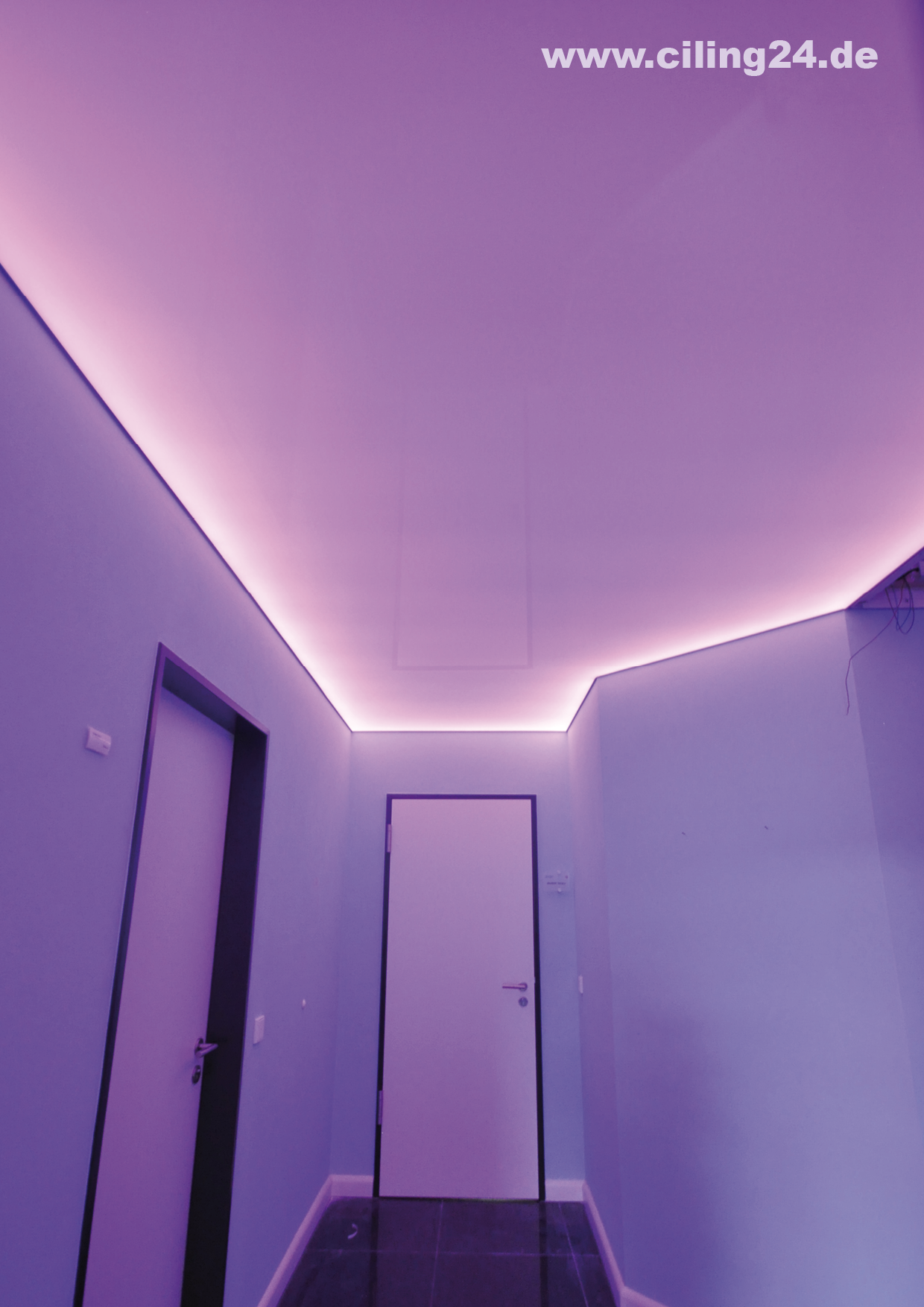 Led Streifen Des Beleuchtungskorridors Rosa Ciling In 2020 Led Leisten Beleuchtung Led