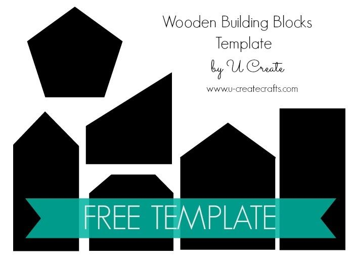 wooden building block set free template waldorf all year round