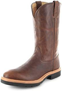 1736 Work Pull Cowboy Brown Lederstiefel On Boots X Twisted Kcl1FJ