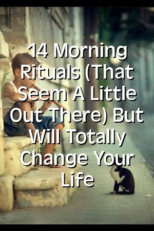 Stephanie Parsons 14 Morning Rituals (That Seem A Little Out There) But Will Totally Change Y... #moneyspells