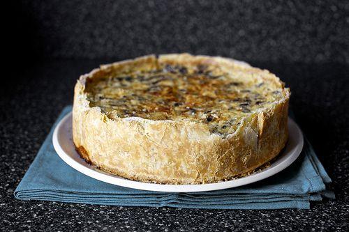 Mushroom quiche from Smitten Kitchen | Keesh | Pinterest ...