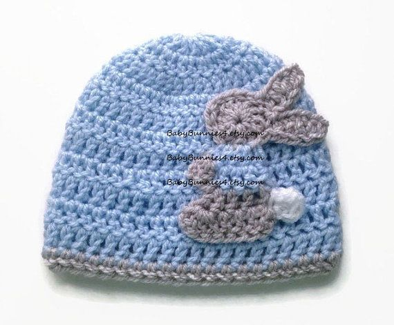 af6c2b066c3 This hat is a classic!! Nothing says Elegance and Traditional than a baby  blue hat with a bunny rabbit on it (with a sweet blue jacket).