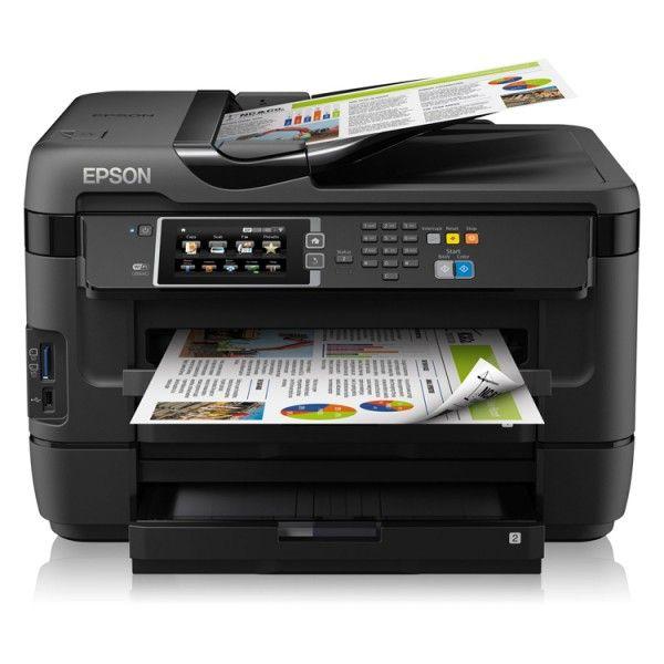 Impresora Multinacional Epson Workforce Wf 7620dtwf Speicherkarte Mac Os Wlan