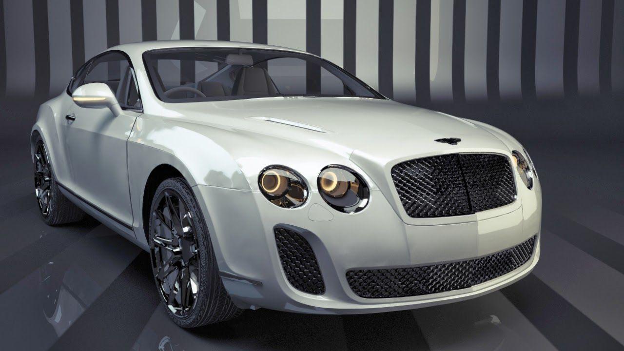Free Cinema 4D Bentley Model and Vray Scene by MENNOWEEREPAS - C4D