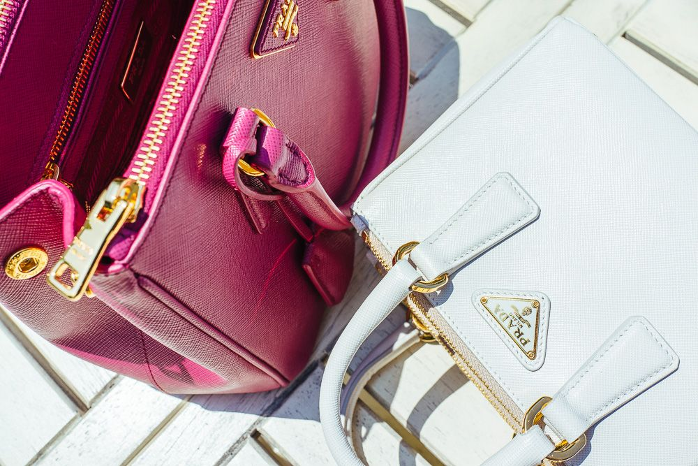 An Intimate Look at the Prada Galleria Bag, Double Bag and New Shoulder  Straps 7d8c02a560
