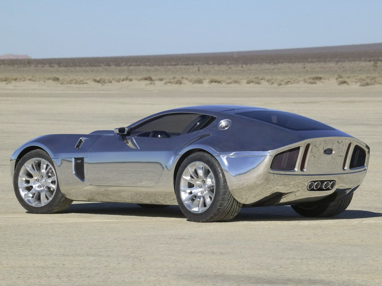 2005 Ford Shelby Gr 1 Concept With Aluminum Body