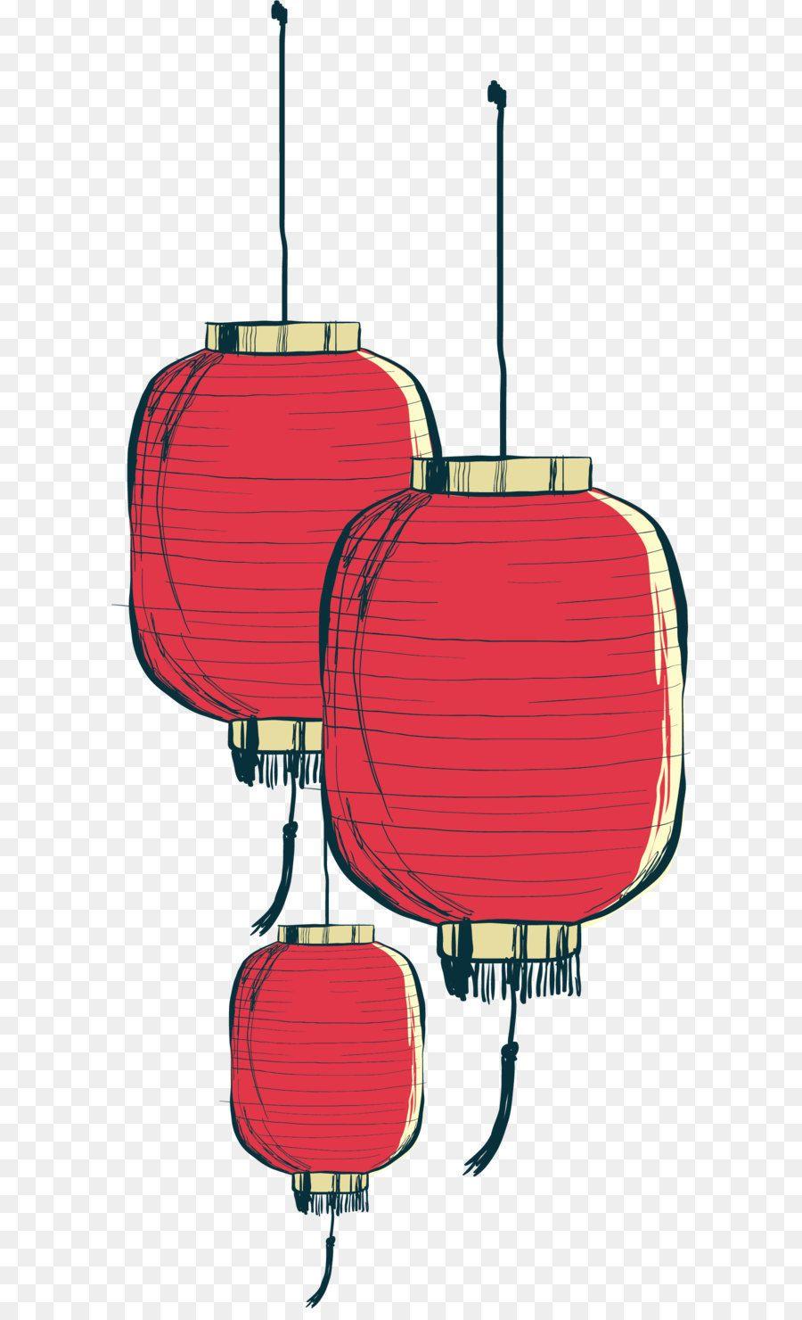 Paper lantern Hand painted Chinese lantern Nhật ký