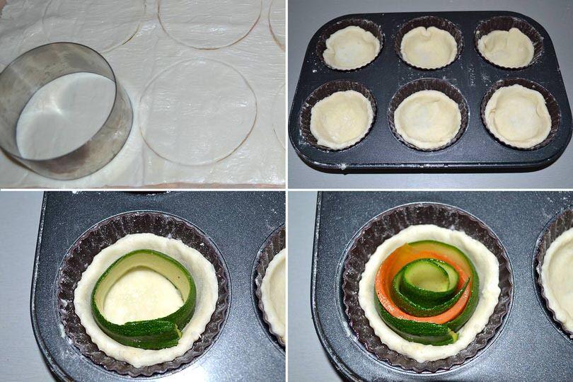 Ricetta Quiche Misya.Mini Quiche Salate Alle Verdure Ricetta Ricette Cibo Etnico Ricette Di Cucina