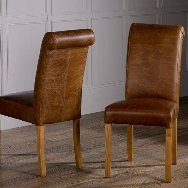 baby roll back leather dining chairs - modish living dining chairs