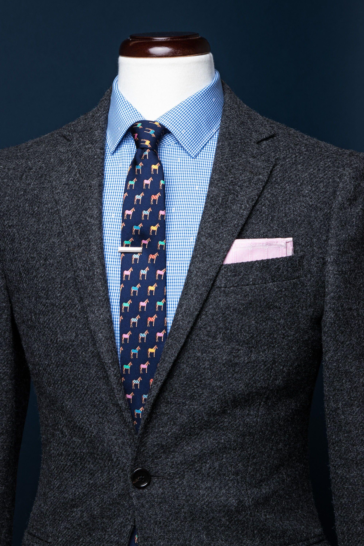 f6c13e5ec460 Horse Blankets Necktie #Necktie #MensFashion #BusinessFormal #Tiesdotcom  #Alynn Raymond Suit,