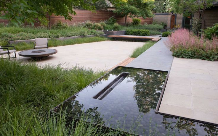 Photo of 18 Great Contemporary Gardens – Award Winning Contemporary Concrete Planters and Sculpture by Adam Christopher