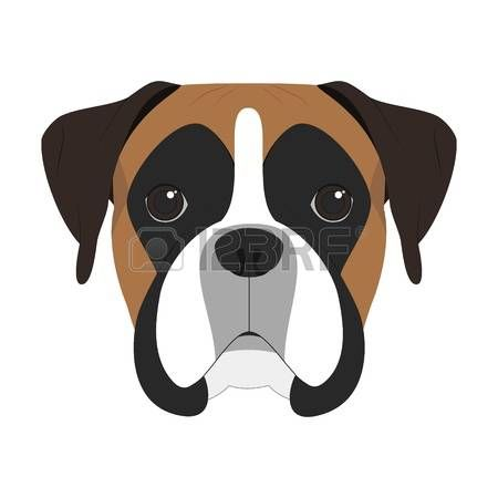 image result for boxer dog clipart greg pinterest dog dog rh pinterest ca boxer dog clip art free boxer dog face clipart