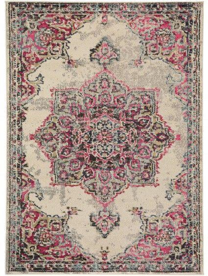 teppich casa beige pink meine neue wohnung pinterest teppiche pink und hausrat. Black Bedroom Furniture Sets. Home Design Ideas