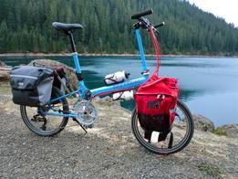 Tour Travel Bikes Bike Friday Touring Bike Bike