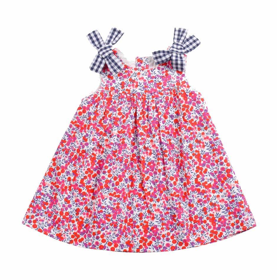 Vestido para Bebe Niña confeccionado en algodón 100%, con tela ...