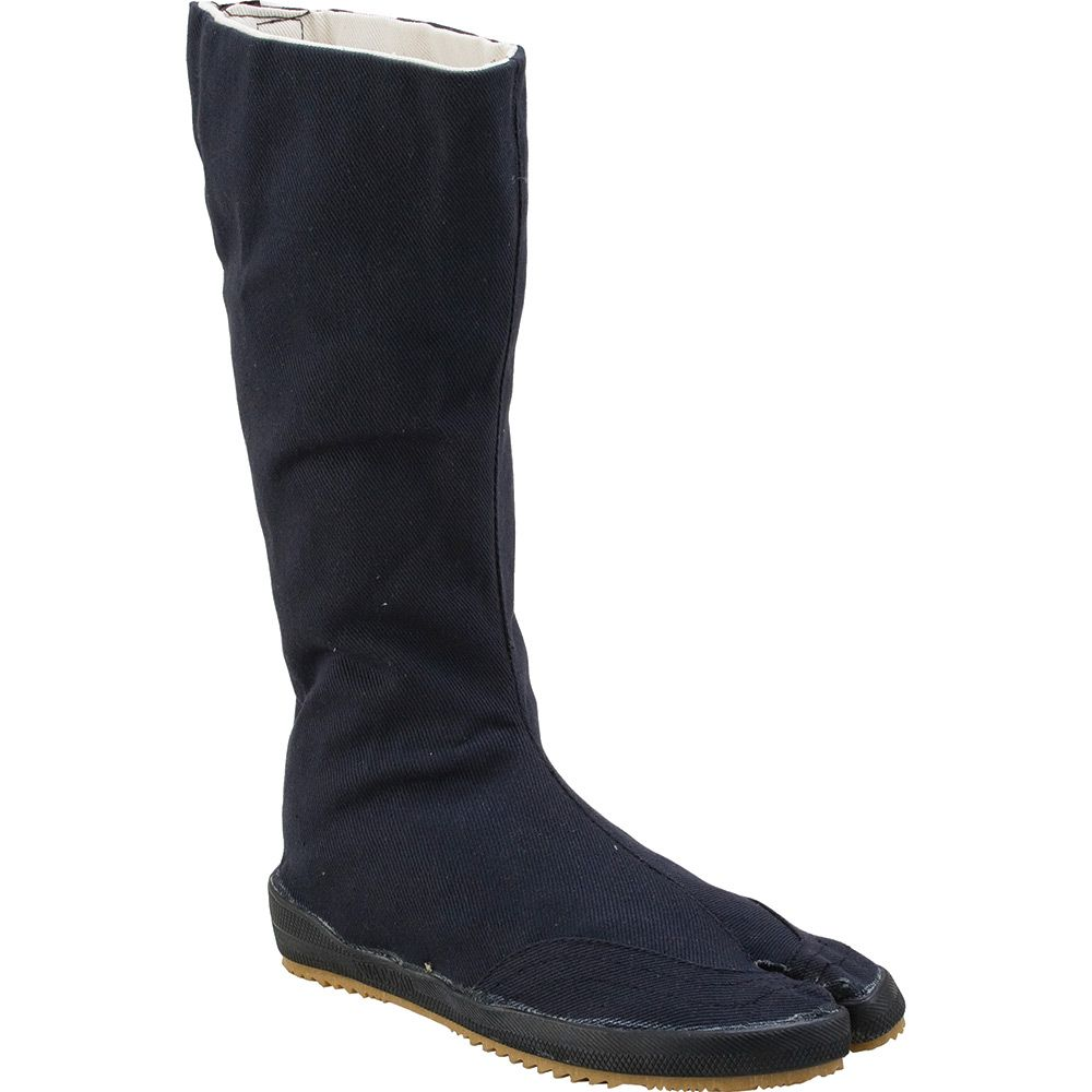 OUTDOOR NINJA TABI BOOTS The all black traditional ninja outdoor tabi boot.  Comprises of a