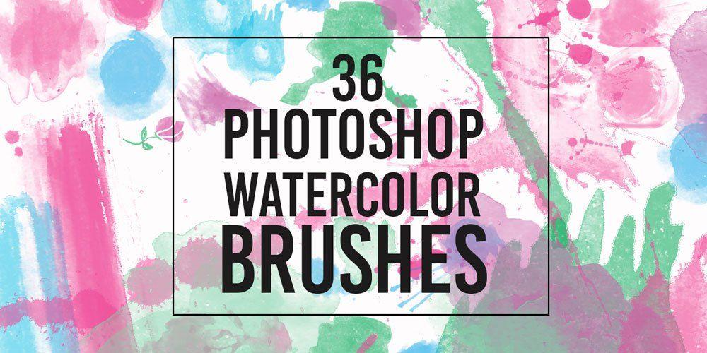 Aquarela Brush With Images Photoshop Photoshop Watercolor