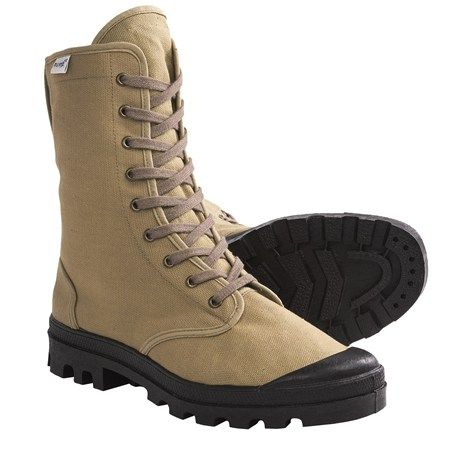 Ruko Canvas Desert Boots (For Men and