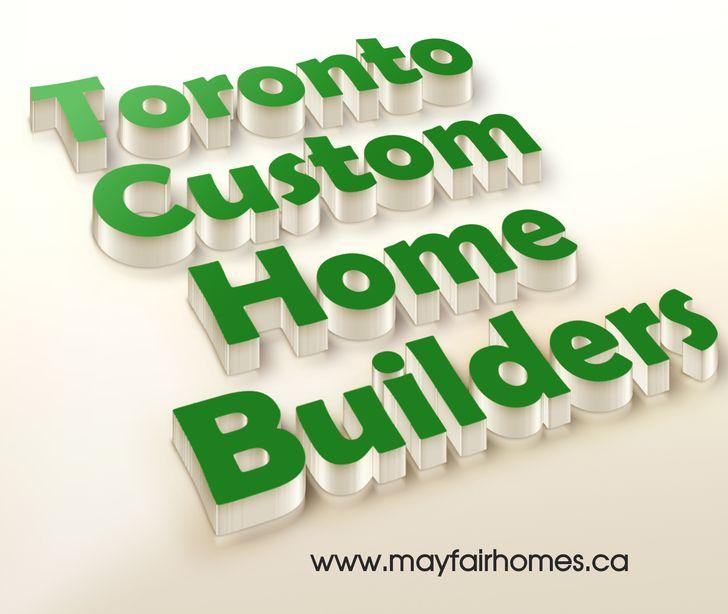 Custom Home Designs Toronto: Toronto Custom Home Builders