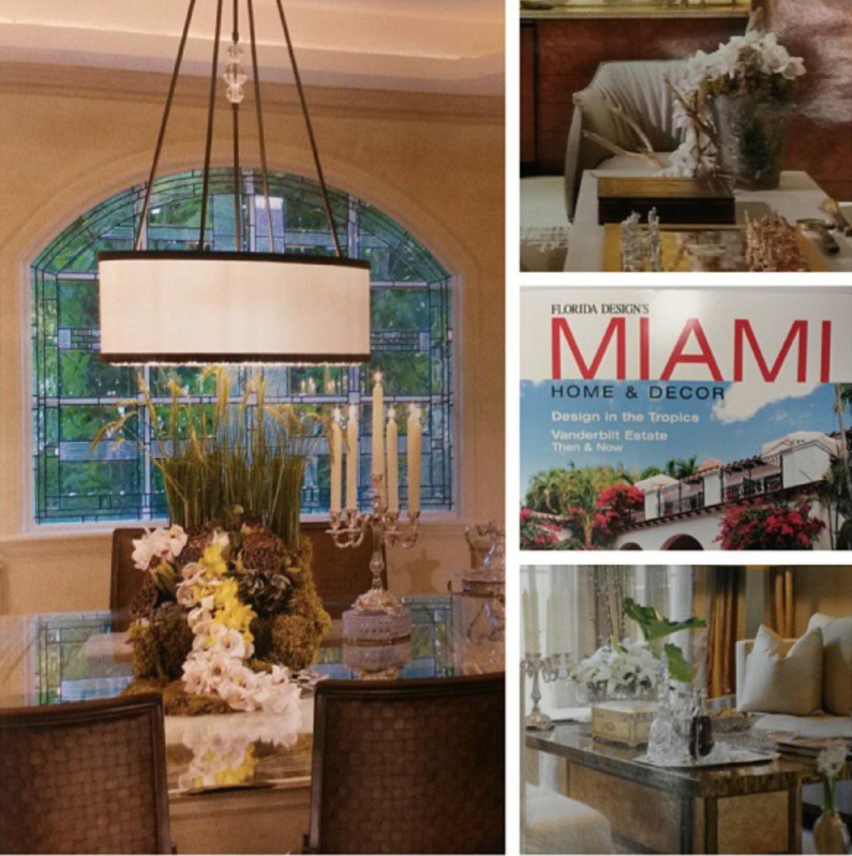 Florida Designs Miami Magazine Florals And Decor Avant Gardens Miami