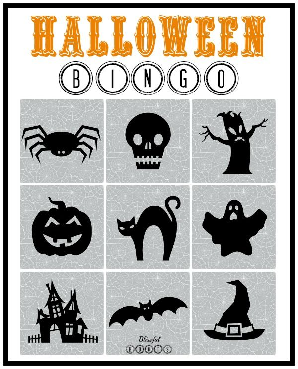 How To Make BINGO Cards With PicMonkey (she: Brooke | Halloween ...